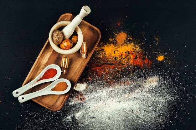 Köstliche orientalische gewürze