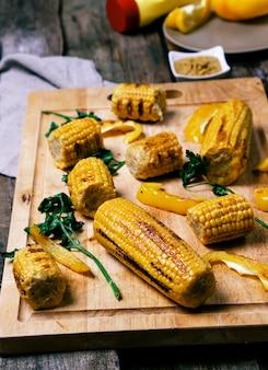 Köstlicher gegrillter mais
