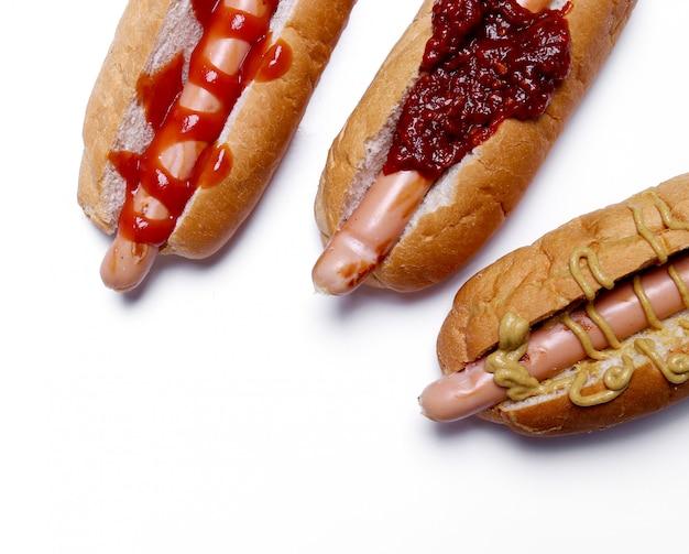Köstlicher hot dog