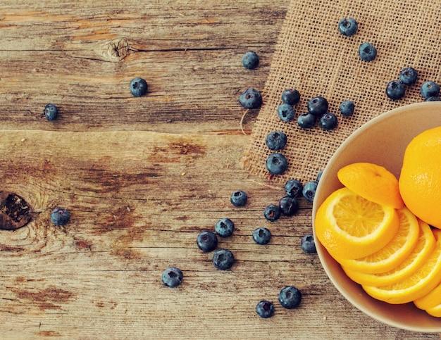 Köstlicher orange hintergrund