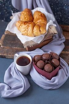 Köstlicher schokoladendessert