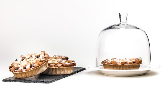 Köstlicher und schöner apfelrosen-blätterteig