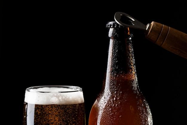 Köstliches amerikanisches biersortiment