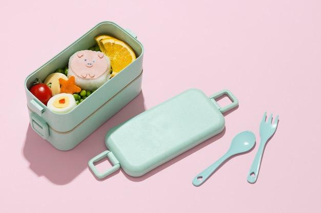 Köstliches bento-box-sortiment