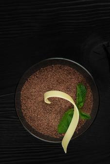 Köstliches italienisches dessert tiramisu