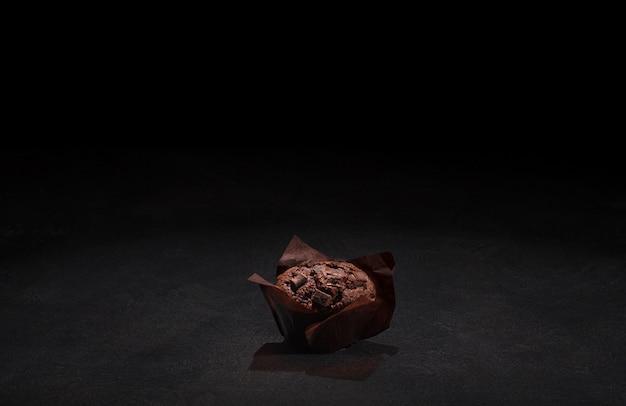 Köstliches schokoladenmuffin