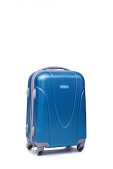 Koffer lokalisiert auf dem weißen hintergrund