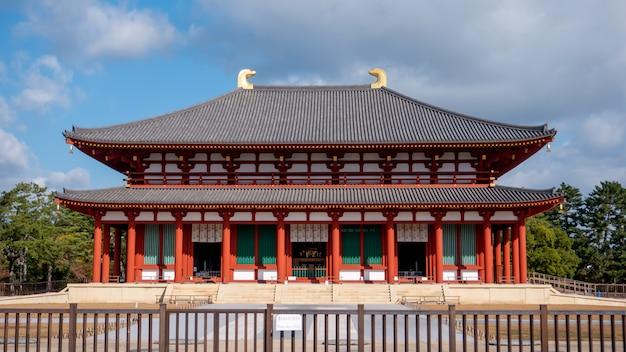 Kofuku-ji ist ein buddhistischer tempel, der einst einer der mächtigsten sieben großen tempel in der stadt nara war
