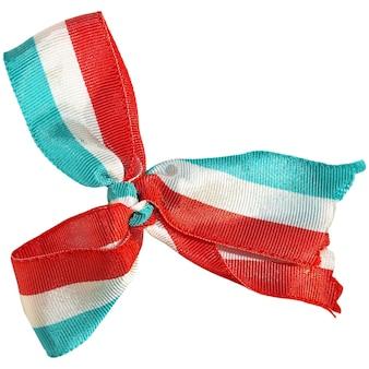 Kokarde mit luxemburgischer nationalflagge