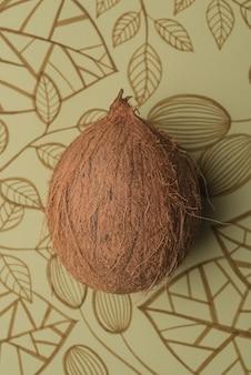 Kokosnussfrucht isoliert
