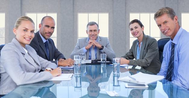 Kollege mitarbeiter möbel zu sprechen pc