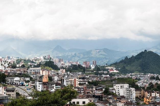 Kolumbien manizales-stadt südamerika