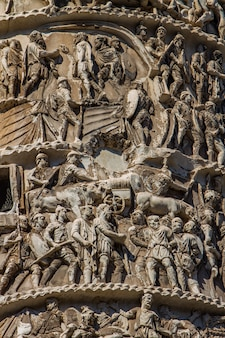 Kolumne von marcus aurelius in rom