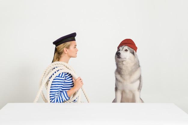 Kommandant cousteau und ich sind bereit zu segeln!