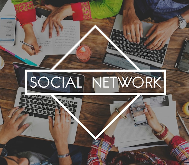 Kommunikation akademische verbindung soziale medien
