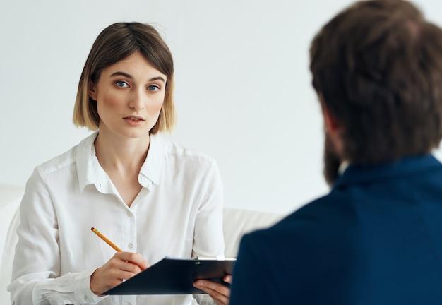 Kommunikation mit einem psychologen arbeitstherapie problemdiagnostik eines patienten