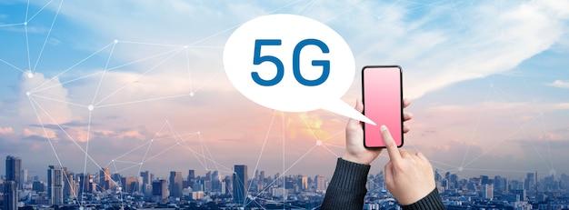 Kommunikationssystem mit 5g internet