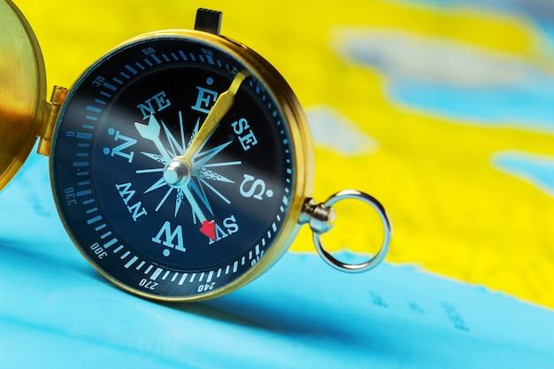 Kompass auf kartenreisen