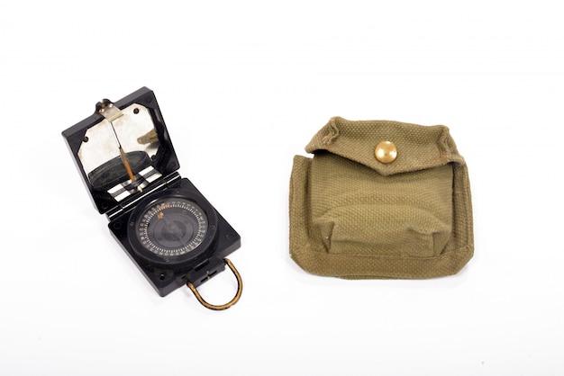 Kompass britisches militär und seine deckung