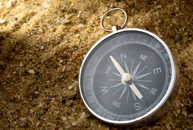 Kompass und schatten