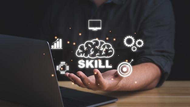 Kompetenz skill persönlichkeitsentwicklungskonzept