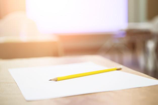 Konferenzsaal oder seminarsitzung, geschäfts- und bildungskonzept