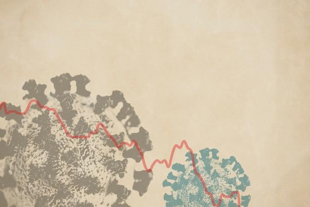 Konjunkturabschwung aufgrund der coronavirus-pandemie