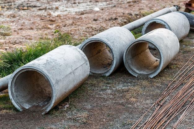 Konkrete drainagerohre