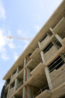 Konkreter gebäudestrukturbau in europa