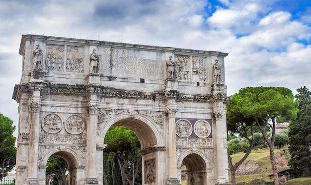 Konstantinsbogen in rom