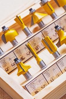 Konstruktionskonzept für roundover-router-bits