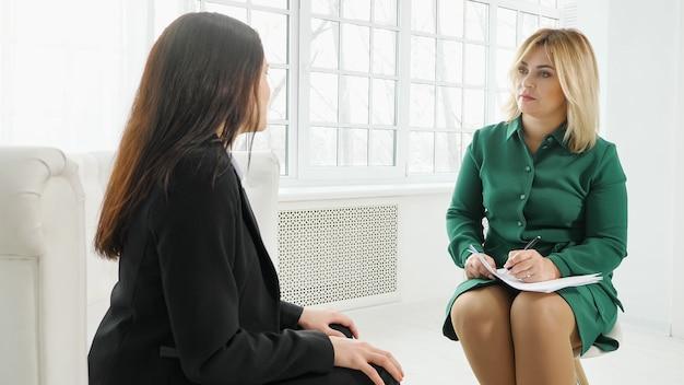 Konsultation eines psychologen