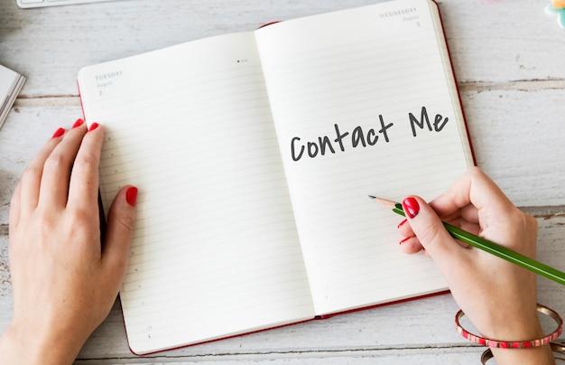 Kontaktieren sie uns fragen zum kundenservice-support-konzept