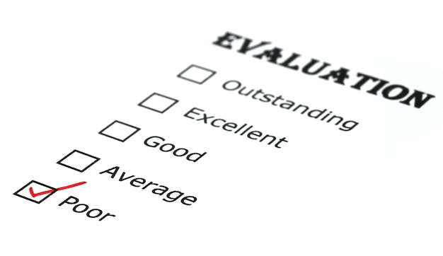 Kontrollkästchen bewertung auf whitepaper