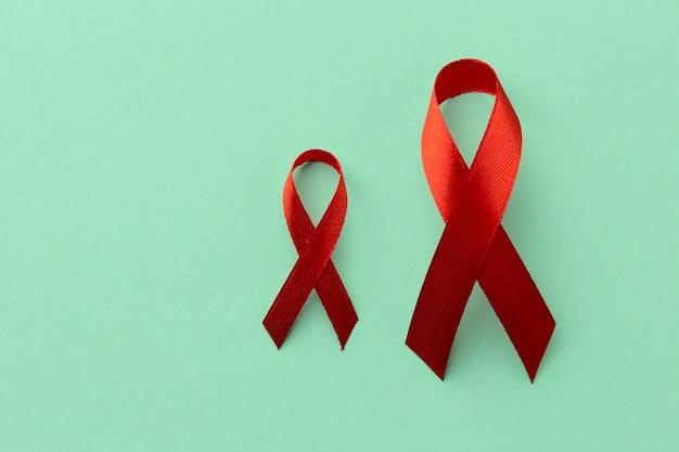 Konzept-arrangement zum welt-aids-tag