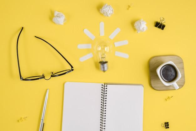Konzept-brainstorming und neue idee