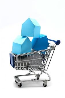 Konzept, das in bau, immobilienspekulation investiert