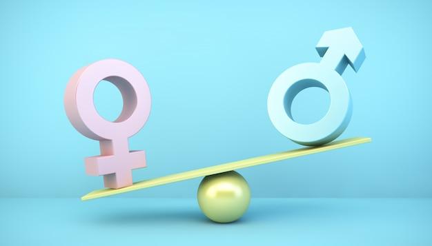 Konzept der geschlechtsspezifischen kluft