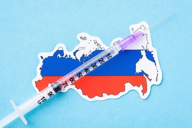 Konzept der impfung in russland