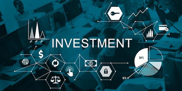 Konzept der investitionskreditkosten für das geschäftsbudget