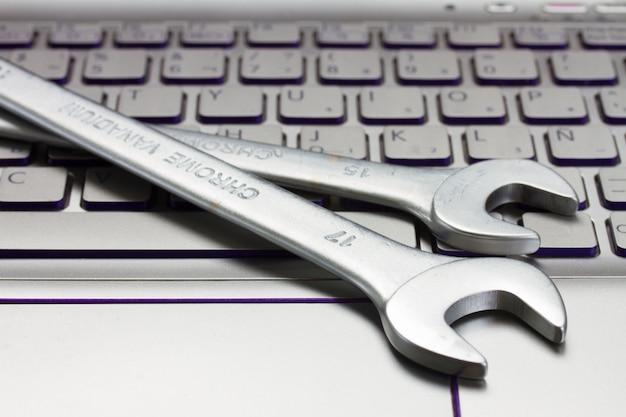 Konzept des elektronischen technischen supports