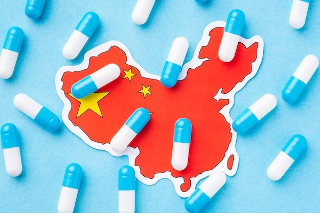 Konzept des nationalen gesundheitssystems von china