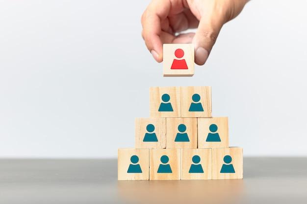 Konzept des personalmanagements in der organisation