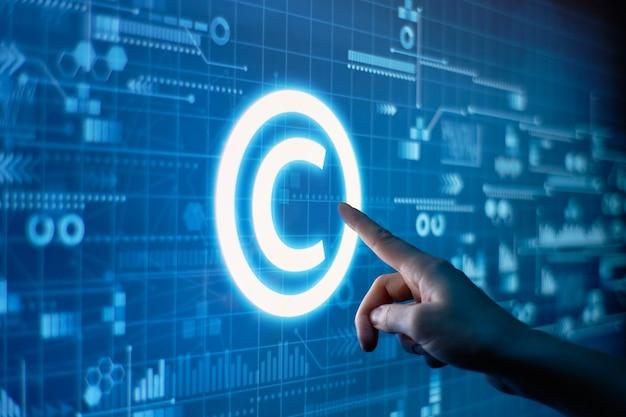 Konzept des urheberrechts und des geistigen eigentums
