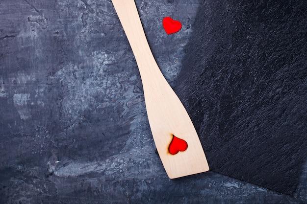 Konzept-feiertag valentine day.greeting card, geschenk.