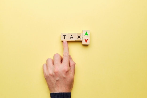 Konzept für änderungen der steuerzinssätze