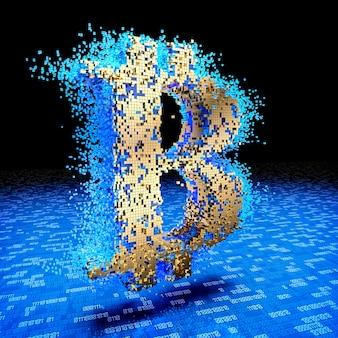 Konzept von bitcoin