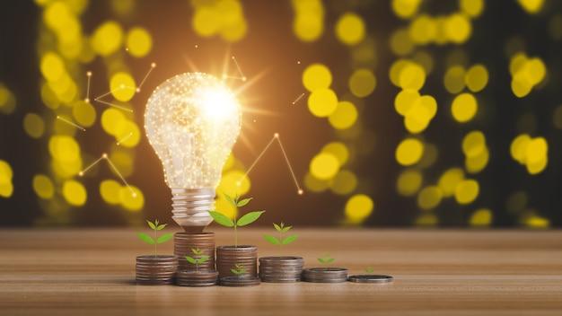Konzept zum sparen von geldeinkommen