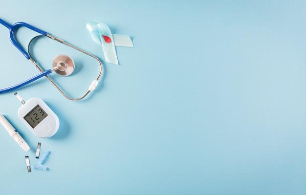 Konzept zur sensibilisierung für den weltdiabetestag