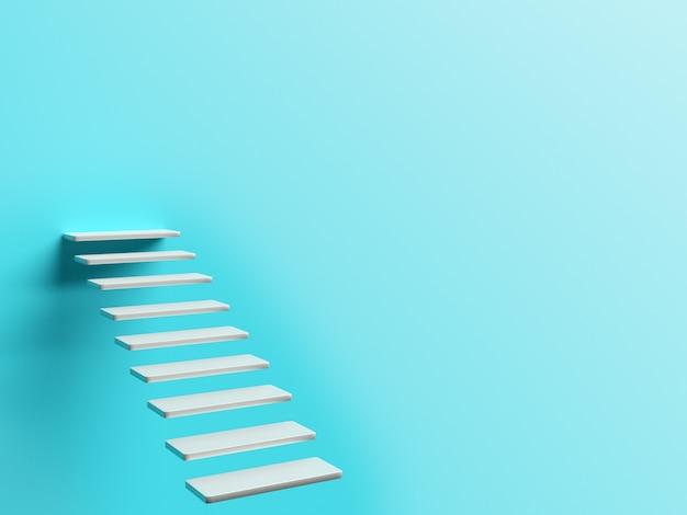 Konzeptbild mit treppe und leerem hintergrund